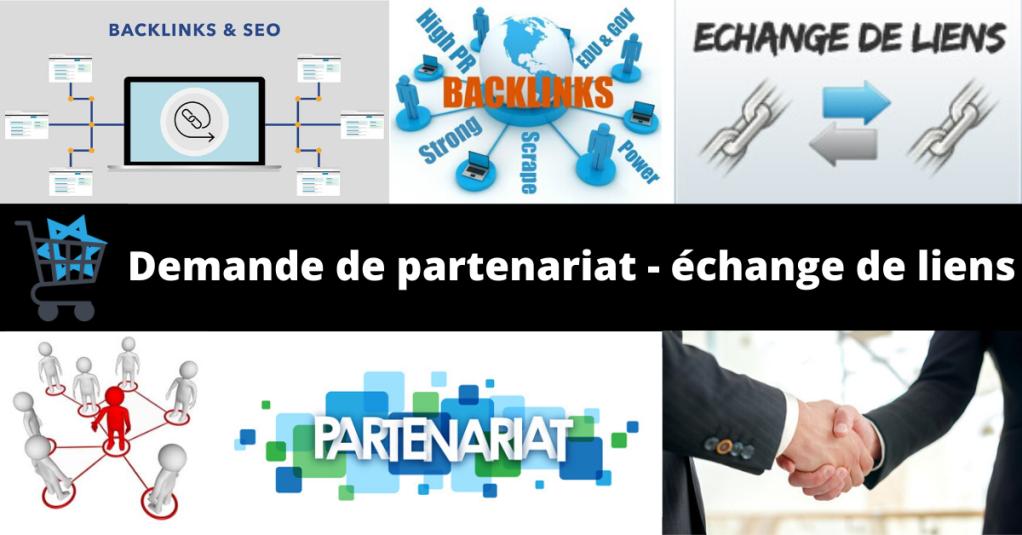 Demande de partenariat et échange de liens avec JewStore